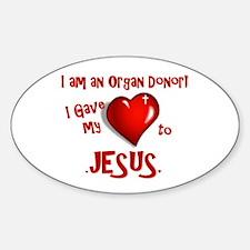 I am an Organ Donor Decal