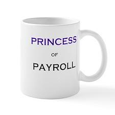 Princess of Payroll Funny Job Title Mug