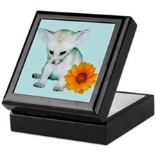 Fennec Fox Kit Keepsake Box