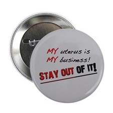 "My Uterus 2.25"" Button"