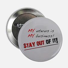 """My Uterus 2.25"""" Button"""