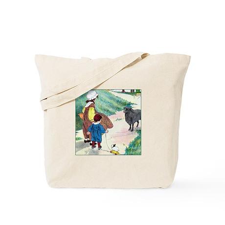 Baa Baa Black Sheep Tote Bag