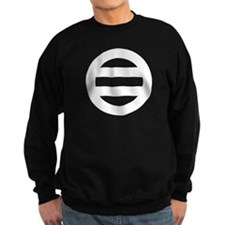 Two lines,Divided into seven Sweatshirt