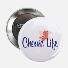 """""""Choose Life"""" 2.25"""" Button (10 pack)"""