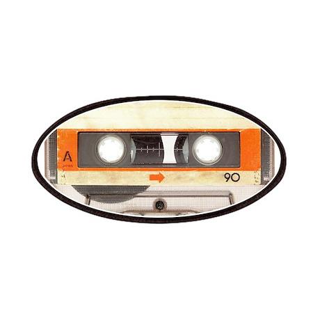 Retro Vintage Style Cassette Tape Patches