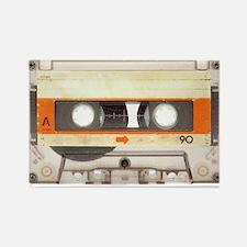 Retro Vintage Style Cassette Tape Rectangle Magnet