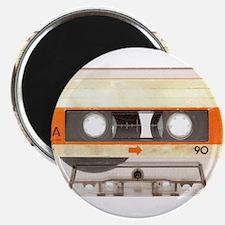 "Retro Vintage Style Cassette Tape 2.25"" Magnet (10"