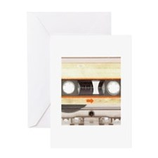 Retro Vintage Style Cassette Tape Greeting Card