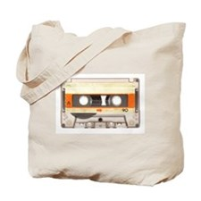 Retro Vintage Style Cassette Tape Tote Bag