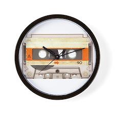 Retro Vintage Style Cassette Tape Wall Clock