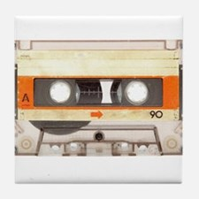 Retro Vintage Style Cassette Tape Tile Coaster