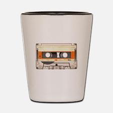 Retro Vintage Style Cassette Tape Shot Glass