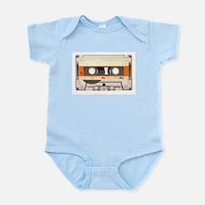 Retro Vintage Style Cassette Tape Infant Bodysuit