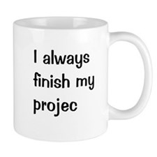 Funny Project Manager Small Mugs