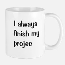 Funny Project Manager Small Small Mug