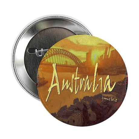 "australia art illustration 2.25"" Button (10 pack)"