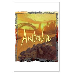australia art illustration Posters