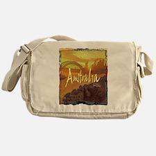 australia art illustration Messenger Bag