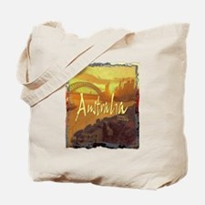 australia art illustration Tote Bag