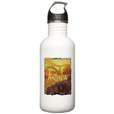 australia art illustration Water Bottle