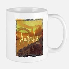 australia art illustration Mug