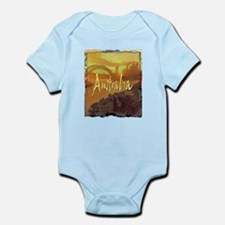 australia art illustration Infant Bodysuit