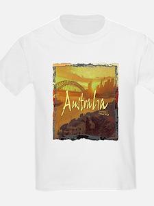 australia art illustration T-Shirt