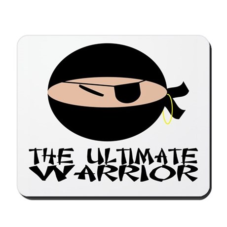 The Ultimate Warrior Mousepad