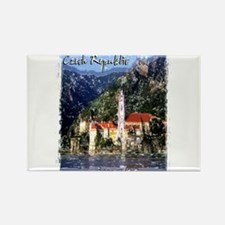 czech reublic art illustration Rectangle Magnet