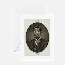 Vintage Zombie Gentleman Greeting Card