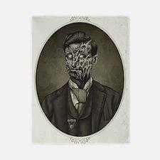 Vintage Zombie Gentleman Twin Duvet