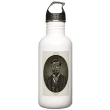Vintage Zombie Gentleman Sports Water Bottle