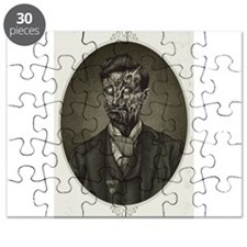 Vintage Zombie Gentleman Puzzle