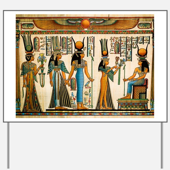 Ancient Egyptian Wall Tapestry Yard Sign