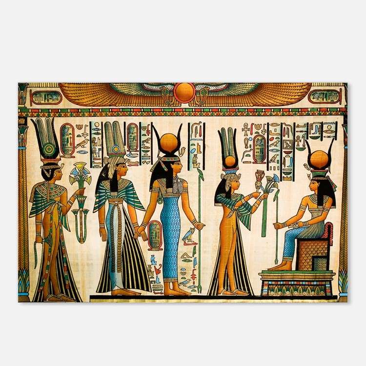 Ancient Egyptian Wall Tapestry Postcards (Package