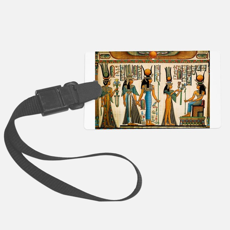 Ancient Egyptian Wall Tapestry Luggage Tag