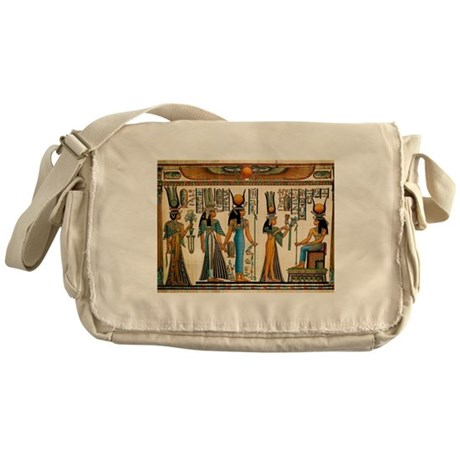 Ancient Egyptian Wall Tapestry Messenger Bag