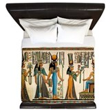 Ancient egypt King Duvet Covers