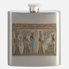 Ancient Egyptian Wall Tapestry Flask