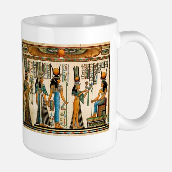 Ancient Egyptian Wall Tapestry Large Mug