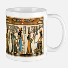 Ancient Egyptian Wall Tapestry Small Small Mug