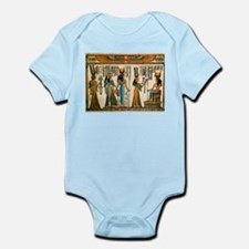 Ancient Egyptian Wall Tapestry Infant Bodysuit