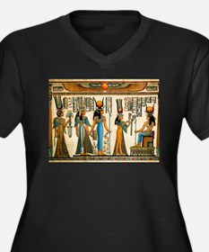 Ancient Egyptian Wall Tapestry Women's Plus Size V