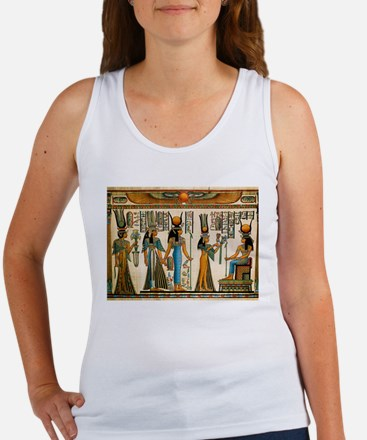 Ancient Egyptian Wall Tapestry Women's Tank Top