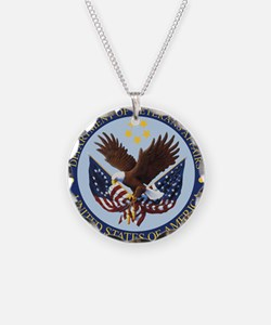 VA seal Necklace