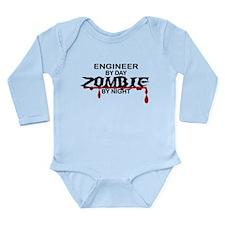 Engineer Zombie Long Sleeve Infant Bodysuit