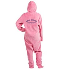 Open Source University Footed Pajamas