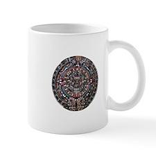 Mulit-Coloured Aztec Sun Dial Mug