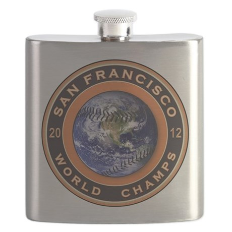 San Francisco 2012 World Champs Flask