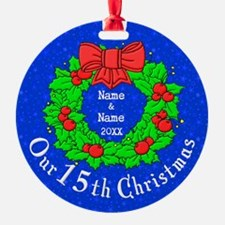 Our 15th Christmas Ornament